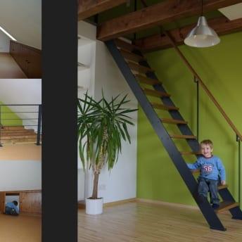 Studio und Spitzboden